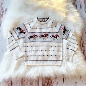 Vintage St. Michael Equestrian Sweater